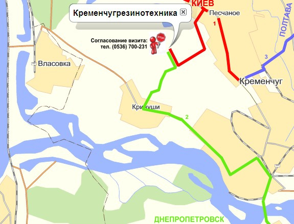 map ways krti